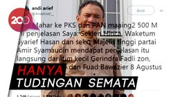 Soal Cuitan Mahar Rp 500 M, ACTA akan Laporkan Andi Arief