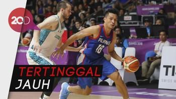 Timnas Basket Filipina Libas Kazakhstan