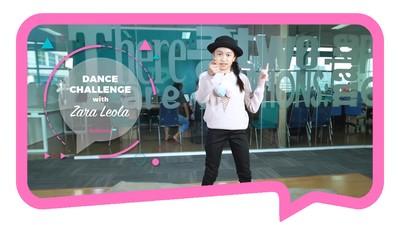 Zara Leola Buktikan Kemampuan Menarinya Lewat Tantangan Ini!