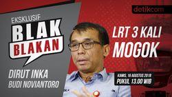 Saksikan Blak-blakan Dirut INKA soal LRT 3 Kali Mogok