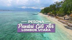 Menikmati Hamparan Pasir Putih di Pantai Gili Air, Lombok