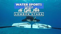 Sensasi Terbang di Bawah Air di Gili Air Lombok