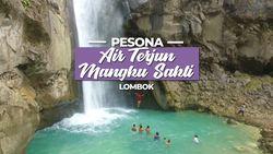Serunya Perjalanan menuju Air Terjun yang indah di Lombok