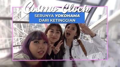 Melihat Kota Yokohama dari Ketinggian diatas Gondola Raksasa