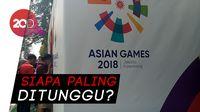 Antusiasme Masyarakat Jelang Opening Asian Games