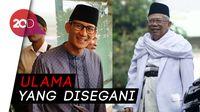 Hormat Sandiaga pada Maruf Amin