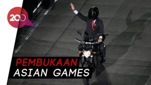 Ini Motor Paspampres yang Ditunggangi Jokowi