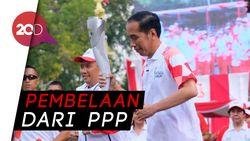 Jangan Lihat Obor Mati Jokowi Pakai Ilmu Klenik