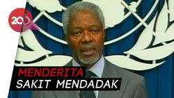 Mantan Sekjen PBB Kofi Annan Tutup Usia