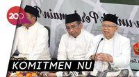 Maruf Amin Menyatakan NU 100% Siap Dukung Jokowi di Pilpres