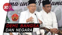 Maruf Amin Tepis Anggapan Turun Pangkat Jadi Cawapres