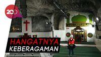 Masjid dan Gereja Berdampingan di Bawah Tanah Papua