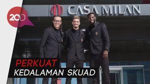 Milan Perkenalkan 3 Rekrutan Anyarnya