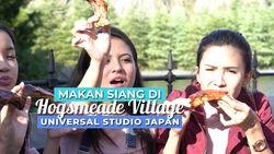 Sensasi Makan Siang ala Murid Hogwarts di Universal Studio Japan