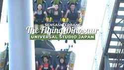 Sensasi Terbang Bersama Dinosaurus di Universal Studio Japan