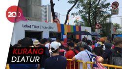 Duh! Warga Keluhkan Antrean Beli Tiket Asian Games