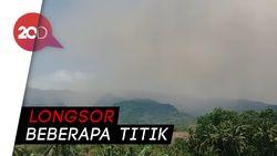 Gempa Lombok, Sebabkan Longsor di Gunung Rinjani