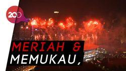 Pesta Kembang Api di Pembukaan Asian Games 2018