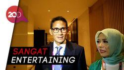 Sandiaga: Jokowi Keren Banget di Pembukaan Asian Games