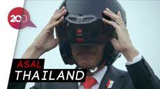 Inikah Pria yang Jadi Stuntman Jokowi di Pembukaan Asian Games 2018?