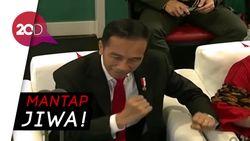 Kata Kaesang Soal Aksi Goyang Dayung Jokowi