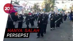 Mendikbud: Tak Ada yang Salah dari Pawai TK Bercadar & Bersenjata
