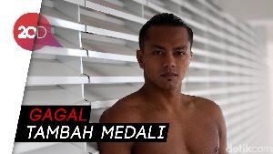 Ditonton Jokowi, Siman Gagal Raih Medali untuk Indonesia