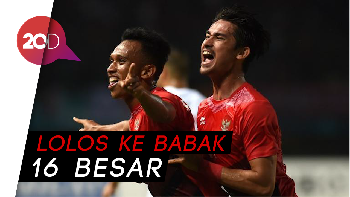 Hancurkan Hong Kong, Timnas Indonesia Juara Grup A Asian Games