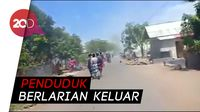 Kepanikan Akibat Gempa 6,5 SR di Lombok