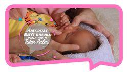 Cara Pijat Wajah Bayi; Ampuh Sembuhkan Flu