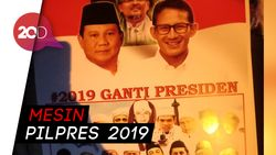 Sandi: #2019GantiPresiden Jadi #2019PrabowoPresiden