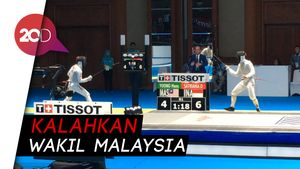 Atlet Anggar Indonesia Lolos ke 16 Besar Asian Games 2018