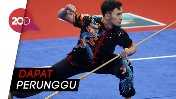 Satu Lagi Atlet Wushu Sumbang Medali untuk Indonesia