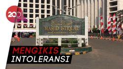 Tak Ada Persiapan Khusus Kedatangan Presiden di Masjid Istiqlal