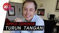 Tangis Elon Musk Pecah Demi Pertahankan Tesla