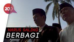 Idul Adha, Jokowi Ingatkan Warga Bantu Korban Gempa Lombok