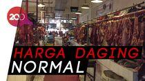 Ibu-ibu... Harga Daging Sapi di Pasar Senen Masih Normal