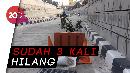 Lagi! Tutup Gorong-gorong Underpass Mampang Raib