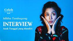 Masa Kecil Mikha Tambayong yang Terbilang Mandiri