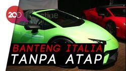 Gagahnya Tampang Lamborghini Huracan Asal Italia