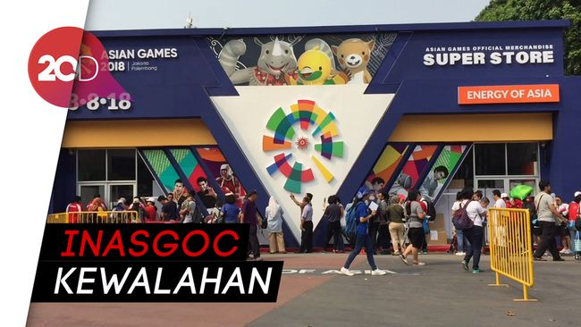 Toko Suvenir Asian Games Ramai Dis Custom 650 Indonesia Vs Uea