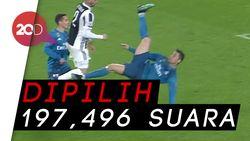 Gol Salto Ronaldo Jadi yang Terbaik di Eropa