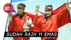 Pencak Silat Ganas di Asian Games, Prabowo Targetkan Olimpiade