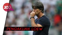 Kesalahan Loew pada Gagalnya Jerman di Piala Dunia 2018