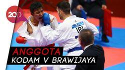 Tak Cuma Atlet Karate, Ternyata Rifki Juga Anggota TNI AD