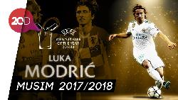 Luka Modric Jadi Pemain dan Gelandang Terbaik Eropa