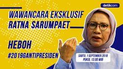 Saksikan Wawancara Ratna Sarumpaet Heboh #2019GantiPresiden