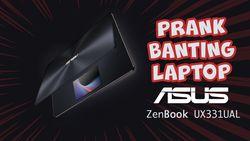 Prank Jatohin Laptop, Intip Yuk Ekspresinya