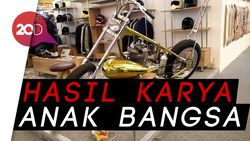 Pemilik Ungkap Cerita Unik di Balik Motor Chopper Jokowi