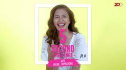 Seru! Mikha Tambayong Ditantang Main 5 Second Challenge